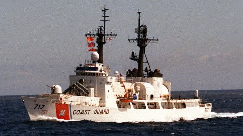 The USCGC Mellon with full weapons. Photo courtesy of Wikipedia Commons.