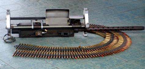 The Browning M3 Machine Gun used on the Aerotech Gun Pod. Photo courtesy of Roy Kabanlit