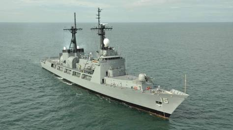 The BRP Gregorio Del Pilar (PF-15). Photo courtesy of the Naval Open Source Intelligence website