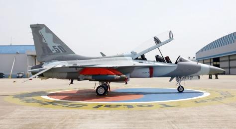 The KAI FA-50 Golden Eagle. Photo courtesy of the Chosun Ilbo website