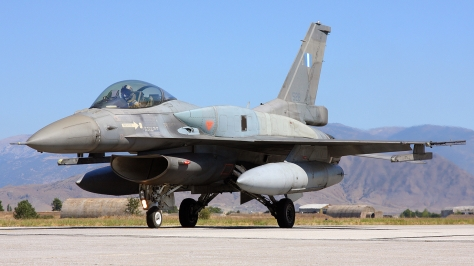 A Hellenic Air Force F-16C Block 50/52+. Photo courtesy of Chris Lofting thru Airliners.net