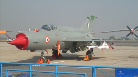 A MIG-21 Bison of the Indian Air Force. Photo courtesy of aztonyx thru Flickr.