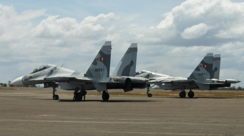 Two SU-30MK2s of the Venezuelan Air Force. Photo courtesy of Big Bosstt thru Flickr.