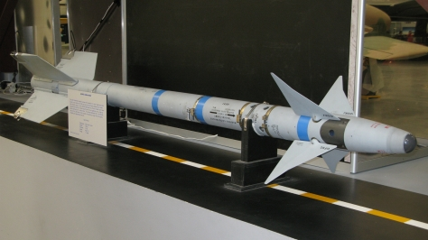 The AIM-9L Sidewinder. Photo courtesy of halfmind thru Flickr