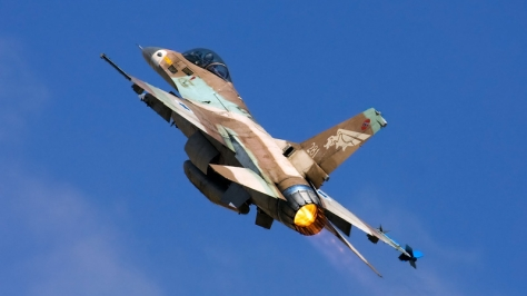 An F-16A Netz on a full afterburner climb. Photo courtesy of xnir thru Flickr