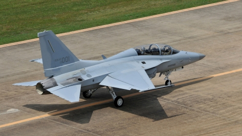 The FA-50 Golden Eagle. Photo courtesy of Korea Aerospace Industries thru Flickr.