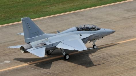 The FA-50 Golden Eagle. Photo courtesy of Korea Aerospace Industries thru Flickr.