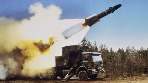 A Saab RBS15 being launched from a truck. Photo courtesy of the fyjs.cn Forum