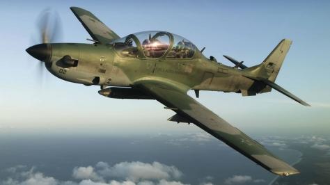 An A-29 Super Tucano. Photo courtesy of mashleymorgan thru Flickr.