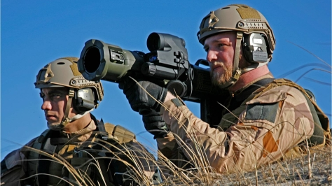 An Aimpoint FCS-12 in action. Photo courtesy of Aimpoint AB