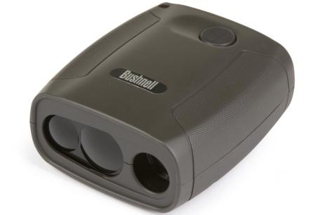 A Bushnell Yardage Pro Sport 450 Pocket Laser Rangefinder. Photo courtesy of Binocular.com