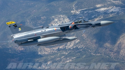 A Kfir C12. Photo courtesy of Nicholas Peterman thru Airliners.net