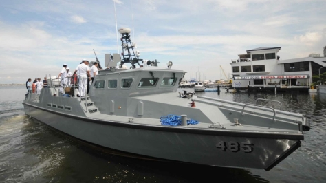 A Mk2 Multi-Purpose Attack Craft (MPAC). Photo courtesy of the ASEAN News Website