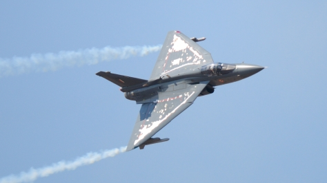 A Tejas Mk1 in flight. Photo courtesy of miyataka_jp thru Flickr