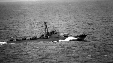 A Saar 4 class Missile Boat of the Chilean Navy, the same type that performed very well during the Yom Kippur War. Photo courtesy of Wikipedia Commons.