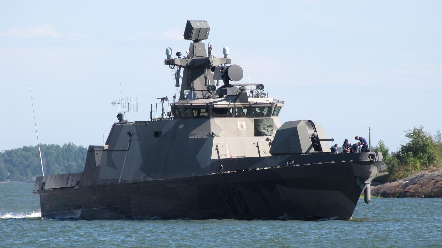 A Haminaclass Missile Boat Photo Courtesy Of Wikipediamons