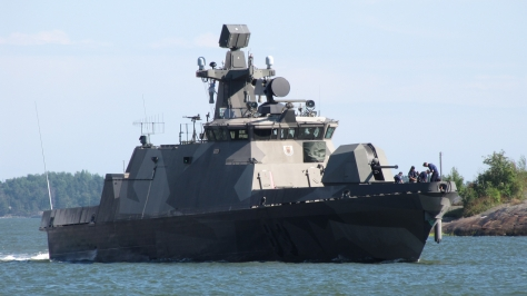 A Hamina-class Missile Boat. Photo courtesy of Wikipedia Commons.