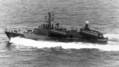 An Osa-class Missile Boat. Photo courtesy of Wikipedia Commons.