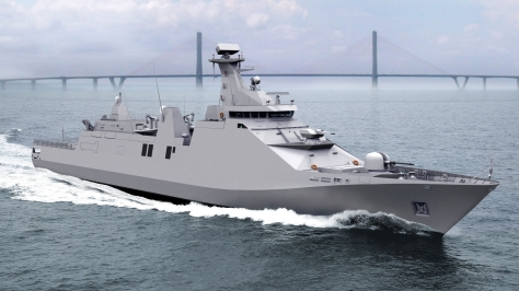 A Sigma 10514 Frigate. Hopefully we will get something as beautiful as this. Photo courtesy of the Naval Open Source Intelligence Website