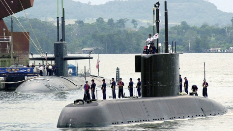 A modern Type 209 Submarine, South Korea's Chang Bogo class. Photo courtesy of Wikipedia.