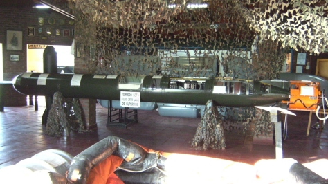 The problematic German SST-4 Torpedo. Photo courtesy of the Patrulleras Argentinas Website.