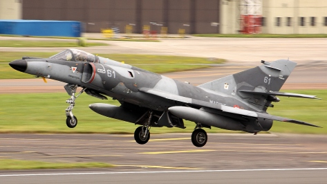 A Dassault Super Etendard. Photo courtesy of Airwolfhound thru Flickr.