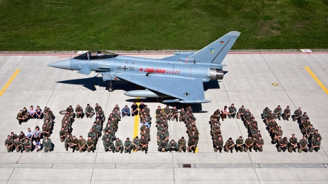 Photo courtesy of the Eurofighter Website