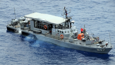 A Conrado Yap-class Patrol Boat, PG 847 BRP Leopoldo Regis or former Haksaeng-class Patrol Boat. Photo courtesy of Wikipedia Commons.