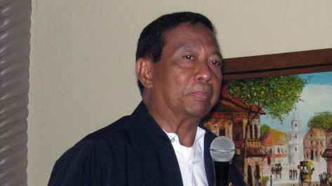Jejomar Binay. Soon the Dark Lord will be upon us. Photo courtesy of the Academic.ru website