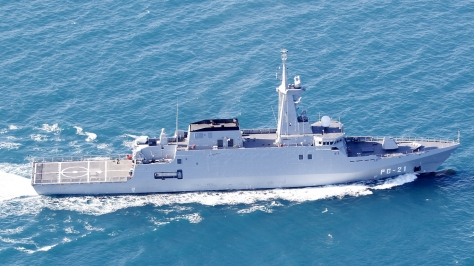 Side view of the Avante 2200 Combatant. Photo courtesy of Navantia Official thru Flickr