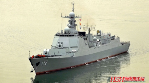 China's latest Destroyer, the Type 052D Luyang III. Photo courtesy of the Hobby Shanghai Website