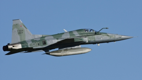 An F-5EM of the Brazilian Air Force. Photo courtesy of the official Ministerio de Defesa account on Flickr