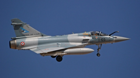 A nice side view of a Mirage 2000-5F. Photo courtesy of Runway21rr thru Flickr.