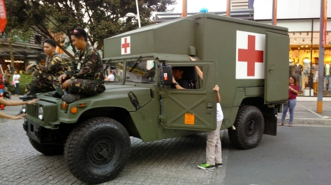 Front-Side view of a Hummer Ambulance of the Philippine Army. Photo courtesy of Wikimedia Commons