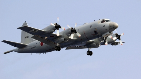 A P-3C Orion of the Japan Maritime Self Defense Force (JMSDF). Photo courtesy of Wikimedia Commons.