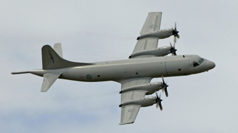 A P-3K Orion of the New Zealand Defence Force. Photo courtesy of Wikimedia Commons.