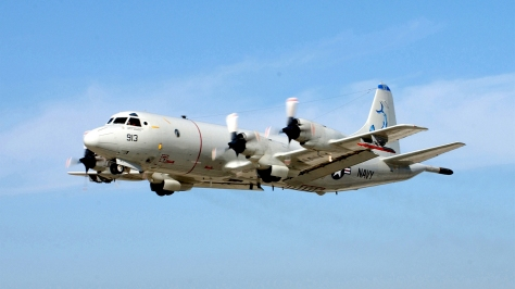 A P-3C Orion of the US Navy. Photo courtesy of Wikimedia Commons.