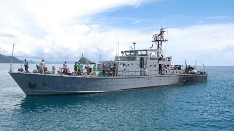 PG-141 BRP Gen. Antonio Luna, an Aguinaldo class Patrol Boat of the Philippine Navy. Photo courtesy of Wikimedia Commons.
