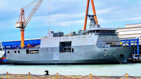 The LD-601 BRP Tarlac. Photo courtesy of Pr1v4t33r from the Pakistan Defence Forum.