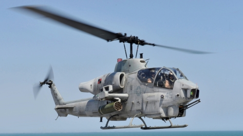An AH-1W Super Cobra Attack Helicopter of the United States Marine Corps (USMC). Photo courtesy of Wikimedia Commons.